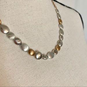 Brighton Silver/Rose Gold Tone Necklace